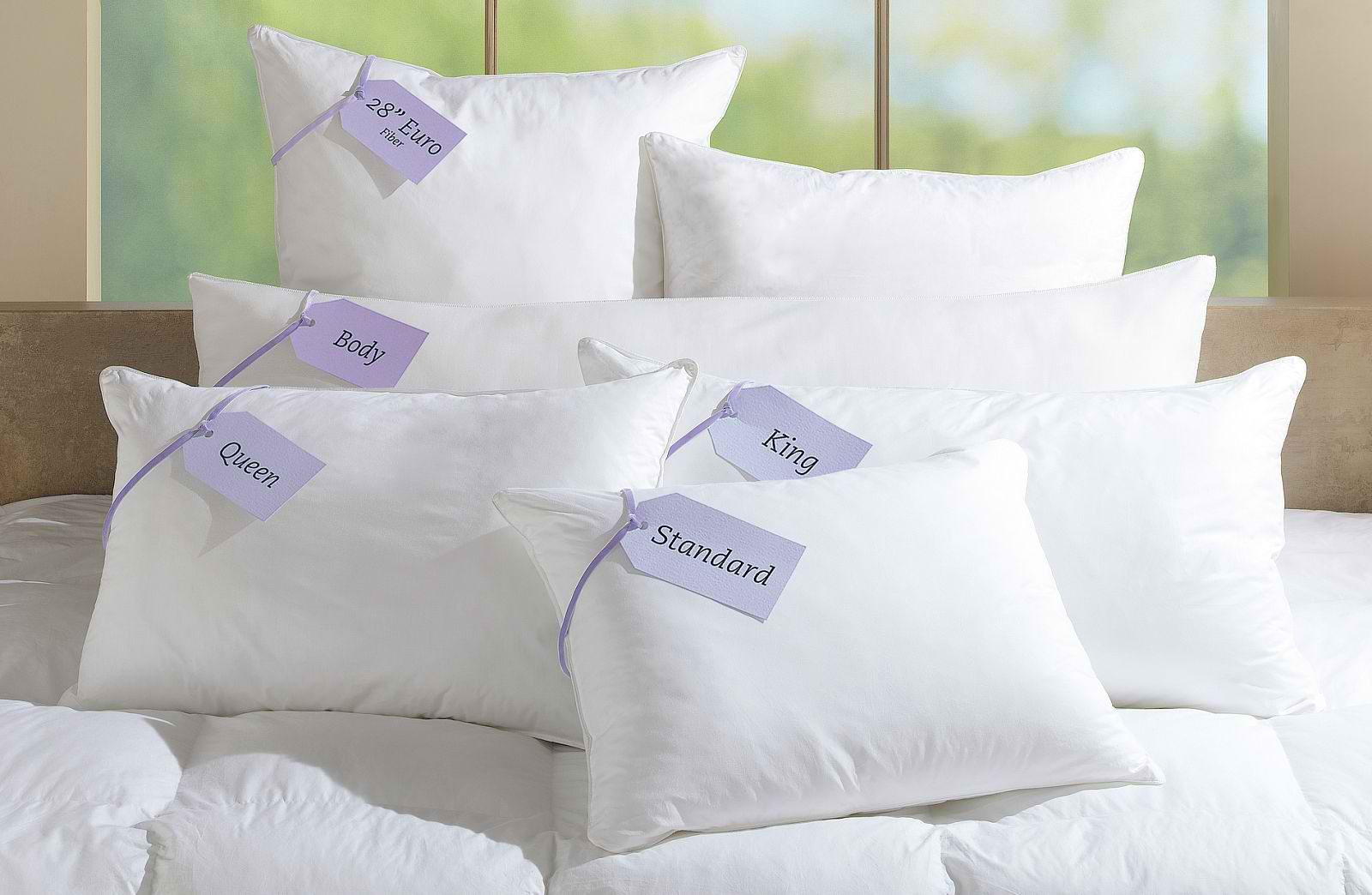 Allergen covers for mattress and pillows reduce effects of for Dust mite allergy pillow cover